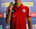 Luiz Altamir ganha dois ouros e uma prata em Brasileiro Júnior de Verão