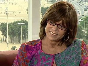 Glória Perez (Foto: reprodução Globo News)