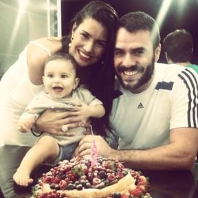 Mariana Felício e Daniel Saullo (Foto: Reprodução/Instagram)