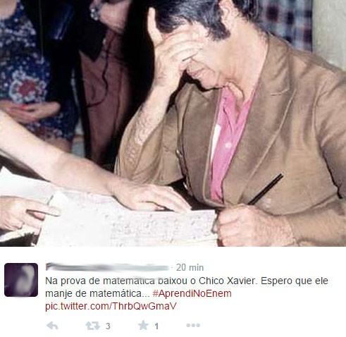 Chico, ajuda aí (Foto: Reprodução/Twitter/QueroNaao)