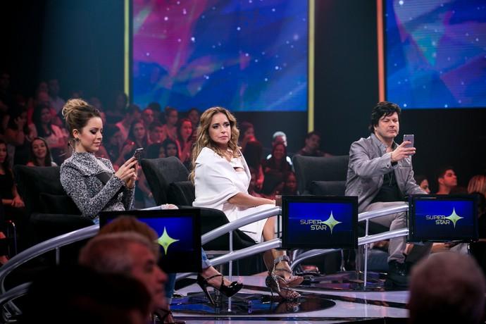 sandy paulo ricardo daniela mercury jurados audição 2 bastidores (Foto: Isabella Pinheiro/Gshow)