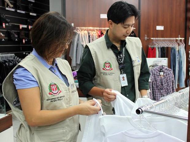 Ipem-SP autua 33% das lojas fiscalizadas e apreende 194 produtos irregulares em Serra Negra (Foto: Divulgação / Ipem-SP)