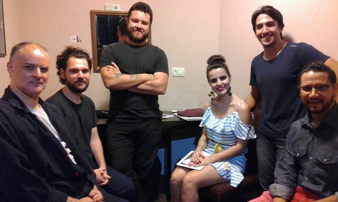 Allice Tirolla e Vinícius Zanin The Voice Brasil (Foto: Divulgação/ RPC)