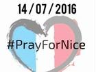 Famosos lamentam atentado com mortes em Nice, na França