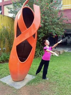 Família de menina terá que se mudar para Joinville para acompanhar a bailarina (Foto: Reprodução EPTV)