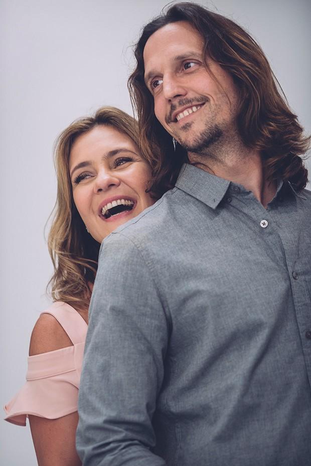 Vladimir Brichta e Adriana Esteves (Foto: Divulgação)