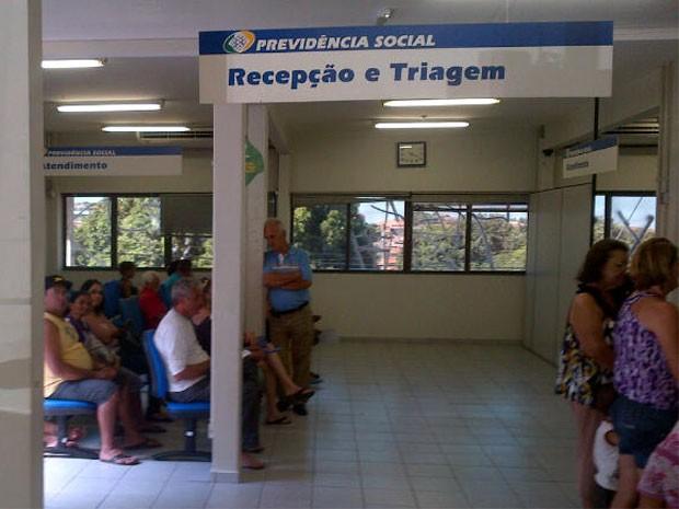 Agência de Campinas reabriu após chegada de funcionário (Foto: Cristiano Machado)