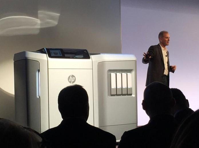 HP promete lançar em breve impressora 3D de alta velocidade (Foto: Reprodução/CNET)