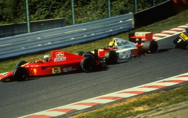 Ayrton Senna Gp Japão (Foto: Getty Images)