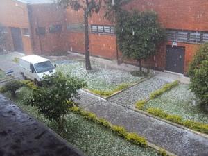 Chuva causou estragos em Itaquaquecetuba (Foto: Yael Simha/Divulgação)