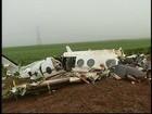'Foi agonizante não poder fazer nada', diz testemunha de queda de avião