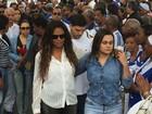 Corpo de presidente da Portela, Marcos Falcon, é enterrado no Rio