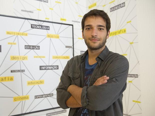 Humberto Carrão será o hacker Davi (Foto: João Cotta/TV Globo)