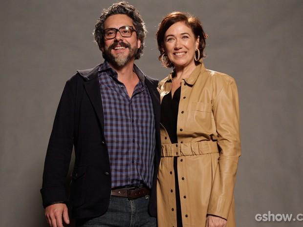 Alexandre Nero e Lilia Cabral vivem par romântico pela segunda vez em uma novela (Foto: Raphael Dias/TV Globo)