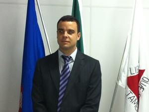 Delegado Cota acredita que o mutirão irá contribuir com o desenrolar dos processos dentro da delegacia.  (Foto: Patrícia Belo / G1)