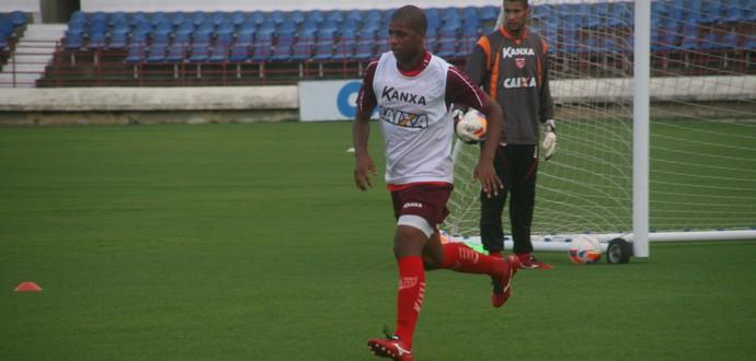 Audálio pode fazer sua terceira partida consecutiva pelo Galo na Série B (Foto: Divulgação/Assessoria CRB)