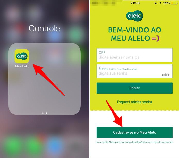 Abra o app Meu Alelo (Foto: Reprodução/Lucas Mendes)