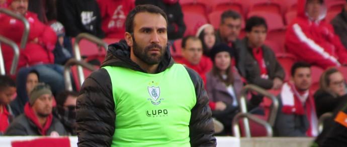 Técnico do América-MG, Sérgio Vieira (Foto: Divulgação / AFC)