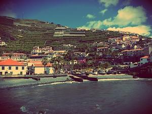 O município de Câmara de Lobos, na Ilha da Madeira (Foto: Rafael Queiroga/Arquivo pessoal)