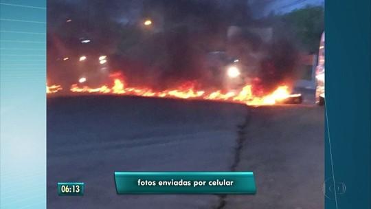Sexta-feira começa com protestos e paralisações no Recife