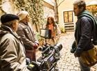 Elenco rodou cenas da terceira fase da novela em Viena, na Áustria (Foto: Rede Globo / João Miguel Júnior)