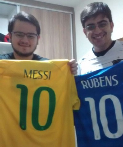 Francisco Samuel Rubens Messi camisa (Foto  Arquivo pessoal) 9d21dd8ea39ea