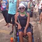 'Me sinto mais vivo', diz cadeirante (Dyepeson Martins/G1)