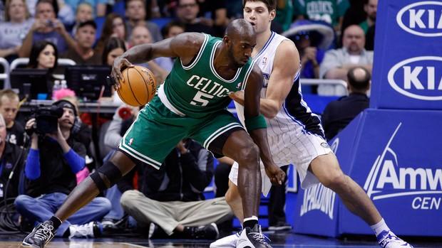 Kevin Garnett boston celtics x orlando magic (Foto: AP)