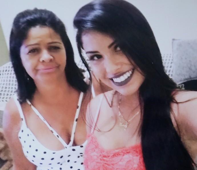 Mãe de Munik diz que Renan e Daniel fazem perfil da filha (Foto: Arquivo pessoal)