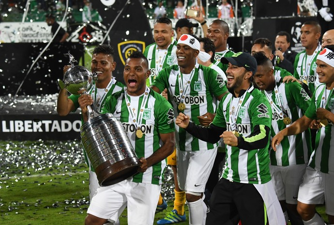 Atletico Nacional Libertadores Borja (Foto: AFP)