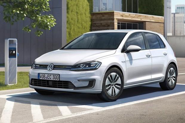 Volkswagen e-Golf 2017 (Foto: Divulgação)