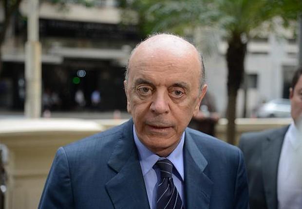 O chanceler José Serra (Foto: Tomaz Silva/Agência Brasil)