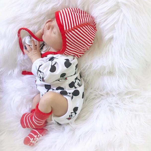 Enrico Bacchi é o primeiro filho de Karina (Foto: Instagram/Reprodução)