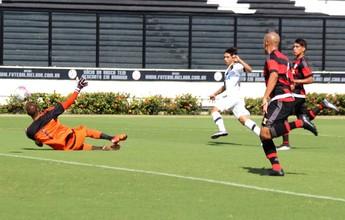 Sub-20: Vasco marca aos 46 do 2º tempo e vence o Fla em São Januário