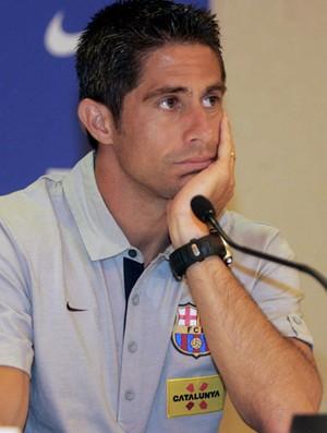 sylvinho barcelona (Foto: agência AP)