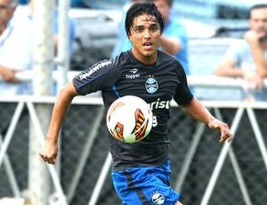 Marcelo Moreno no treino do Grêmio (Foto: Lucas Uebel / Site Oficial do Grêmio)