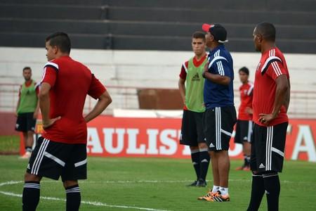 Alexandre Ferreira, técnico do Botafogo-SP (Foto: Cleber Akamine)