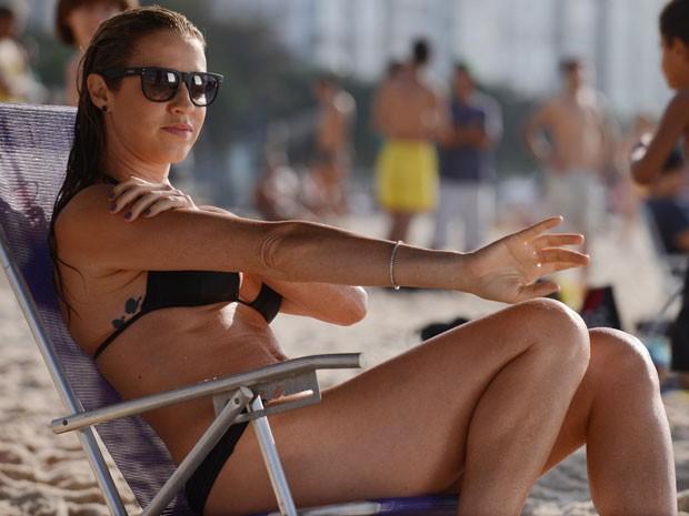 A atriz dará vida a Vera no seriado (Foto: Raphael Dias/TV Globo)