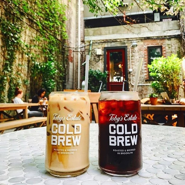 Os famosos Cold Brews do Toby's Estate Coffee (Foto: Instagram/Reprodução)