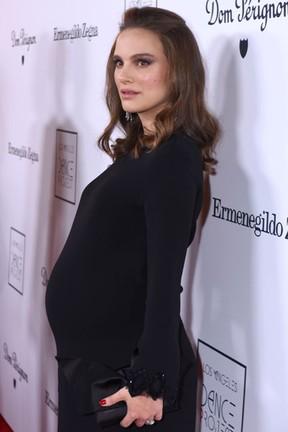 Natalie Portman em evento em Los Angeles, nos Estados Unidos (Foto: Vivien Killilea/ Getty Images/ AFP)