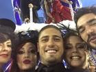 Elenco de 'Império' grava desfile de escola fictícia na Sapucaí, no Rio