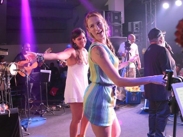 Luana Piovani em festa na Zona Sul do Rio (Foto: Reginaldo Teixeira/ Divulgação)
