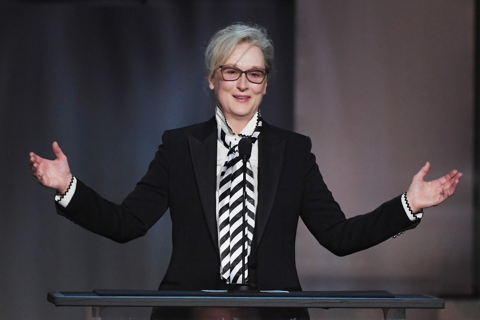 Mery Streep, 31 vezes indicada ao Globo de Ouro (Foto: Getty)