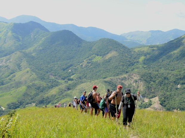 No cume da Pedra do Silvado, os participantes terão vista panorâmica da cidade (Foto: Divulgação/ Ascom Maricá)