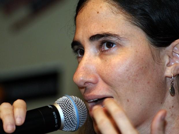 Yoani sanches (Foto: Egi Santana / G1)