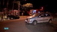 Acidente em cruzamento de Campo Grande deixa jovem ferida