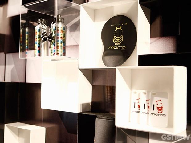 A decoração do evento contou com a marca da empresa de Jonas Marra (Foto: Inácio Moraes / TV Globo)