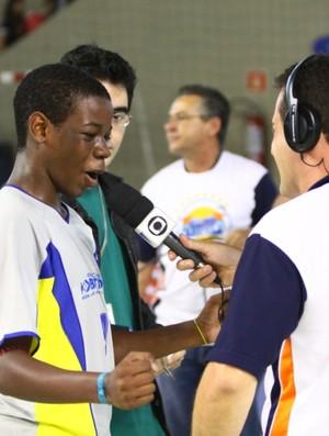 Objetivo na Copa TV Tribuna de Futsal (Foto: José Luiz Borges / TV Tribuna)