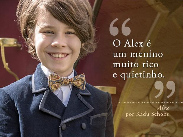 Card Alex - Kadu Schons (Foto: Fábio Rocha/Gshow)