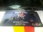 Perseguido por PM descarta arma de uso da polícia e foge no DF